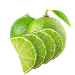 Lime Half Slices