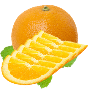 Orange Half Slices